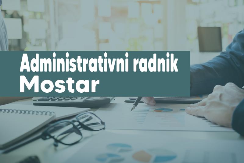Tražimo administrativne radnike: Mostar