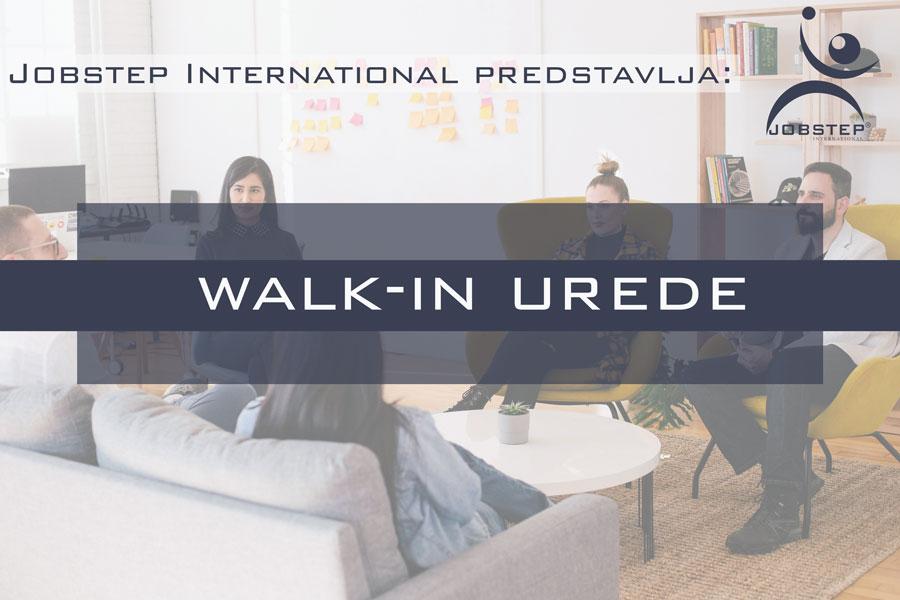 Jobstep predstavlja: Walk-in urede